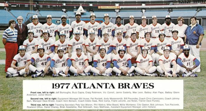 1977 Atlanta Braves 5