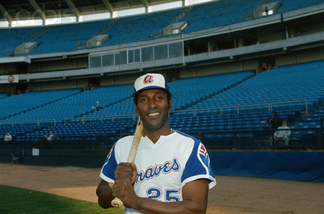 Atlanta Braves Outfielder Rico Carty