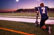 Hischool_football_sunset