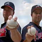 Maddux and Glavine in the Fall Classic